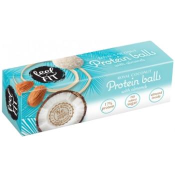 proteinski rafaelo - proteinske kroglice - BREZ SLADKORJA
