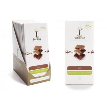 Luxury mlečna čokolada s stevijo I ČOKOLADA BREZ SLADKORJA I www.brezsladkorja.si