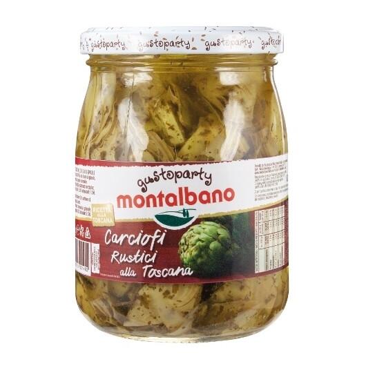 Artičoke na žaru v olju - italijanski antipasti