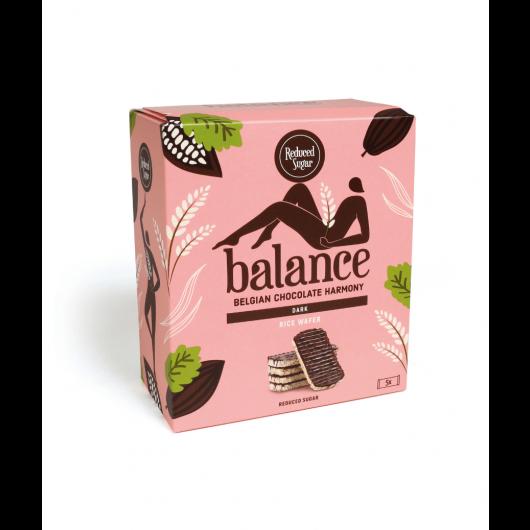 Riževi vaflji obliti s čokolado brez sladkorja