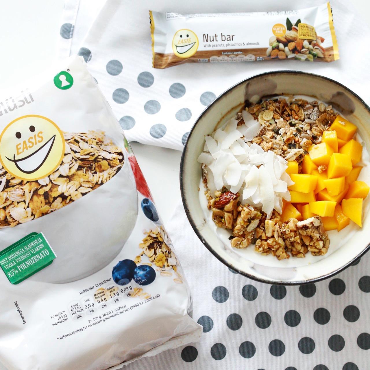 Proteinska ploščica, granola, brez glutena - brez sladkorja