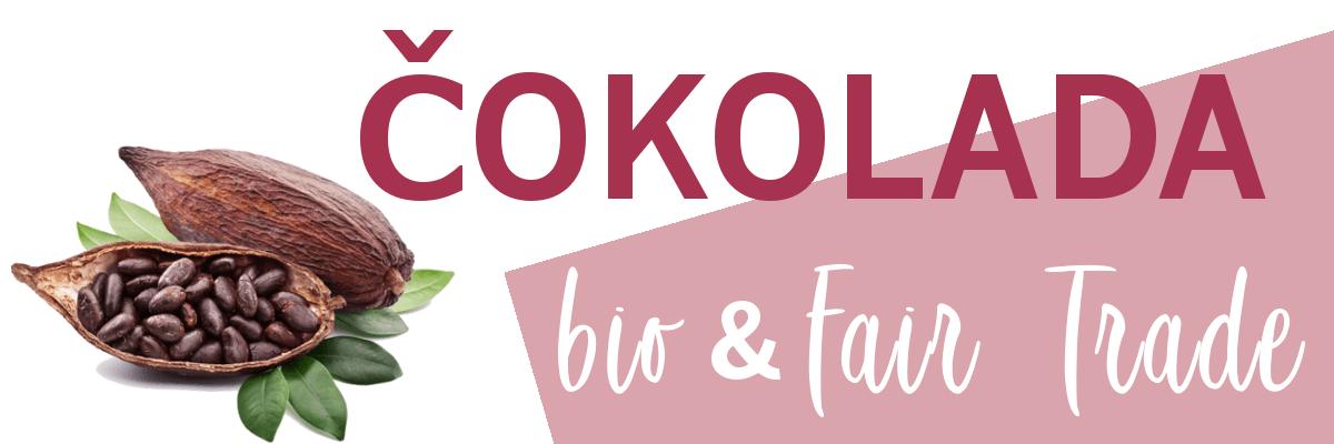 Bio in FairTrade čokolada zrna kakava