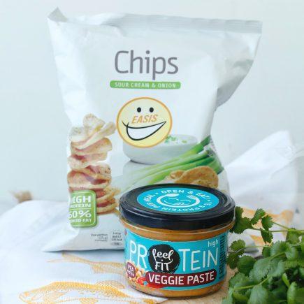 GIVEAWAY: Easis proteinski čips in Feel Fit proteinski namaz