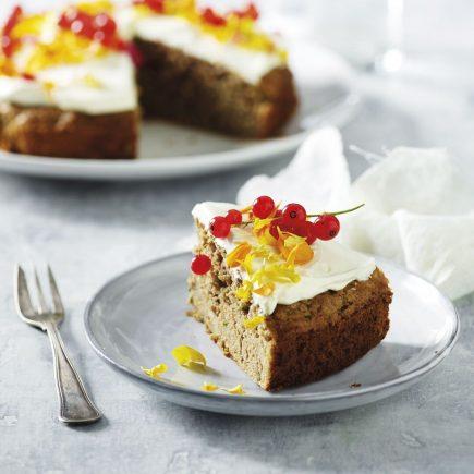 Pistacijin kolač z bučko
