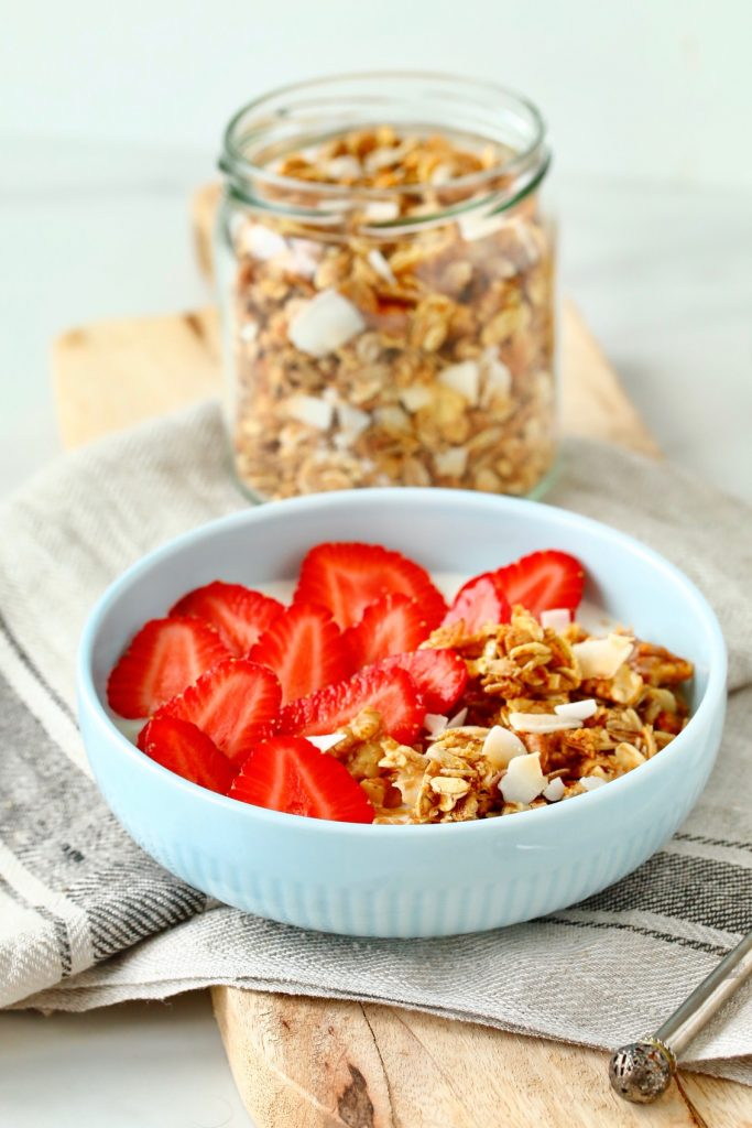 domača granola brez sladkorja